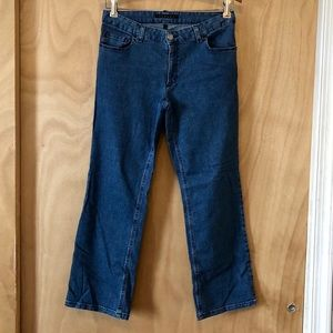 Theory Strait Mid Crop Jeans